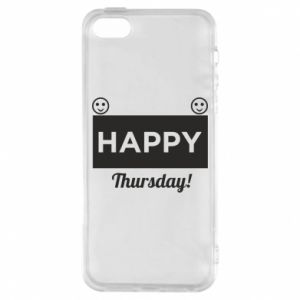 Etui na iPhone 5/5S/SE Happy Thursday