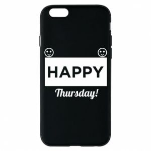 Etui na iPhone 6/6S Happy Thursday