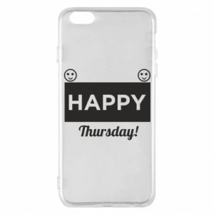 Etui na iPhone 6 Plus/6S Plus Happy Thursday
