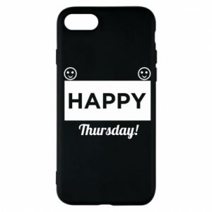 Etui na iPhone 7 Happy Thursday