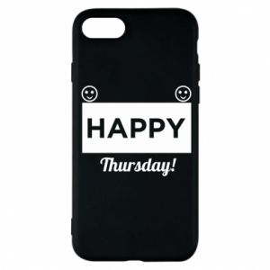 Etui na iPhone 8 Happy Thursday