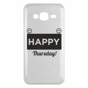 Etui na Samsung J3 2016 Happy Thursday
