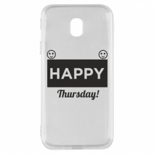 Etui na Samsung J3 2017 Happy Thursday