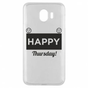 Etui na Samsung J4 Happy Thursday