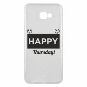 Etui na Samsung J4 Plus 2018 Happy Thursday