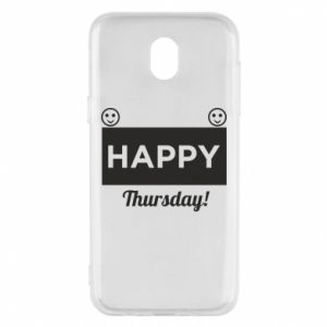 Etui na Samsung J5 2017 Happy Thursday