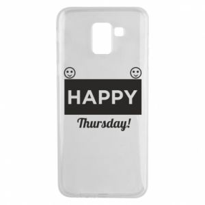 Etui na Samsung J6 Happy Thursday