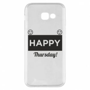 Etui na Samsung A5 2017 Happy Thursday