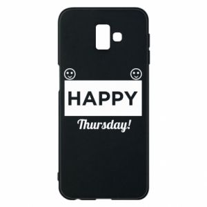 Etui na Samsung J6 Plus 2018 Happy Thursday