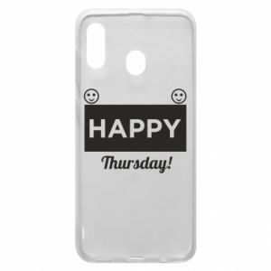 Etui na Samsung A20 Happy Thursday