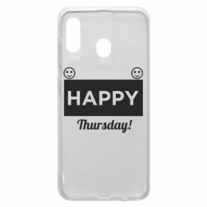 Etui na Samsung A30 Happy Thursday