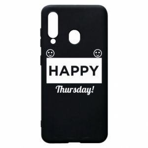 Etui na Samsung A60 Happy Thursday