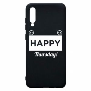 Etui na Samsung A70 Happy Thursday