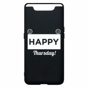 Etui na Samsung A80 Happy Thursday