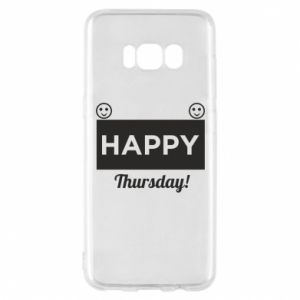 Etui na Samsung S8 Happy Thursday