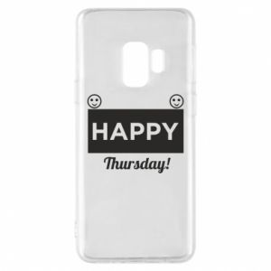 Etui na Samsung S9 Happy Thursday