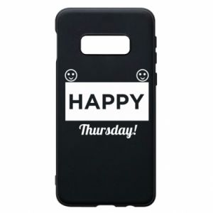 Etui na Samsung S10e Happy Thursday