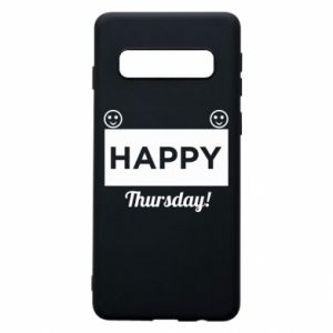 Etui na Samsung S10 Happy Thursday