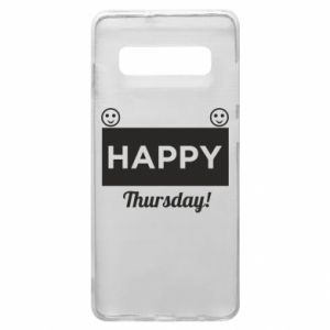 Etui na Samsung S10+ Happy Thursday