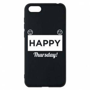 Etui na Huawei Y5 2018 Happy Thursday