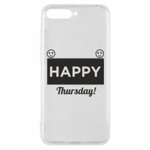 Etui na Huawei Y6 2018 Happy Thursday