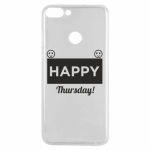 Etui na Huawei P Smart Happy Thursday