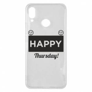 Etui na Huawei P Smart Plus Happy Thursday