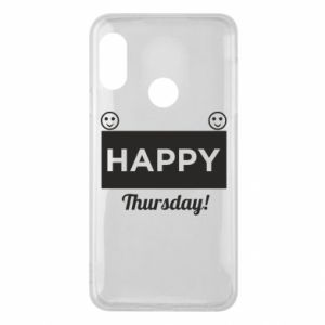Etui na Mi A2 Lite Happy Thursday