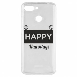 Etui na Xiaomi Redmi 6 Happy Thursday