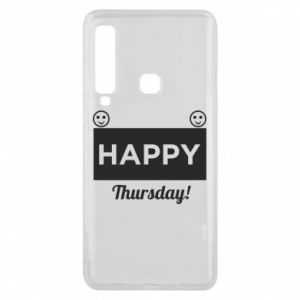 Etui na Samsung A9 2018 Happy Thursday