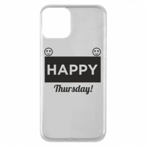 Etui na iPhone 11 Happy Thursday
