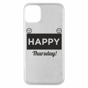 Etui na iPhone 11 Pro Happy Thursday