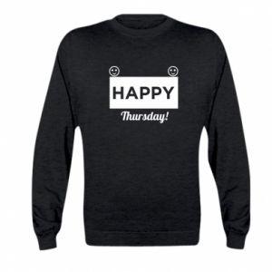 Bluza dziecięca Happy Thursday