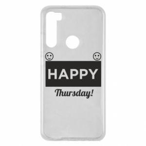 Etui na Xiaomi Redmi Note 8 Happy Thursday