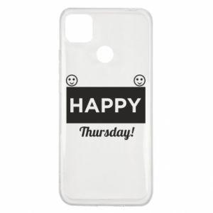 Etui na Xiaomi Redmi 9c Happy Thursday