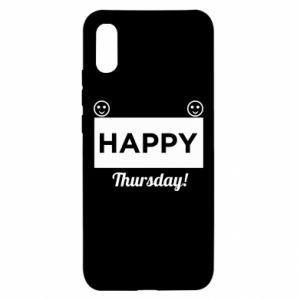 Etui na Xiaomi Redmi 9a Happy Thursday