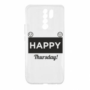 Etui na Xiaomi Redmi 9 Happy Thursday