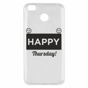 Etui na Xiaomi Redmi 4X Happy Thursday