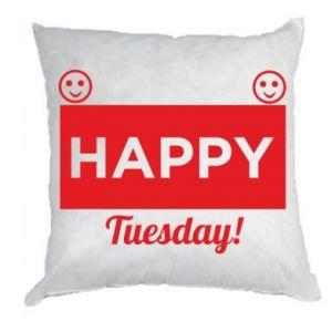 Poduszka Happy Tuesday