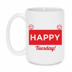 Kubek 450ml Happy Tuesday