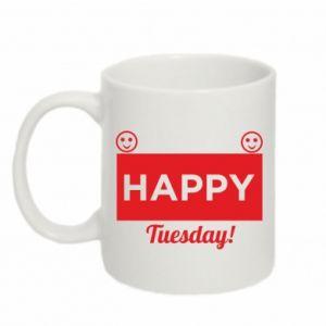 Kubek 330ml Happy Tuesday