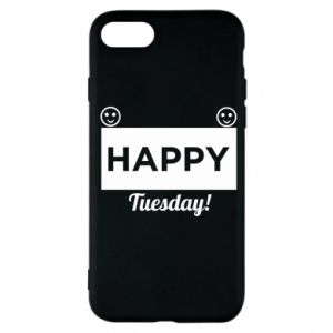 Etui na iPhone 7 Happy Tuesday