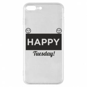 Etui na iPhone 7 Plus Happy Tuesday