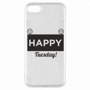 Etui na iPhone 8 Happy Tuesday