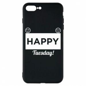 Etui na iPhone 8 Plus Happy Tuesday
