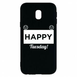 Etui na Samsung J3 2017 Happy Tuesday
