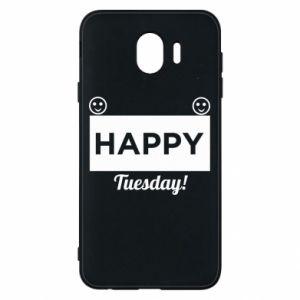 Etui na Samsung J4 Happy Tuesday