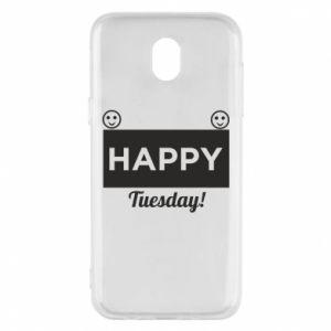 Etui na Samsung J5 2017 Happy Tuesday