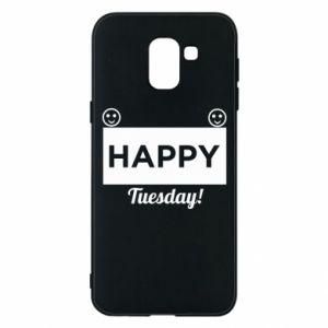 Etui na Samsung J6 Happy Tuesday