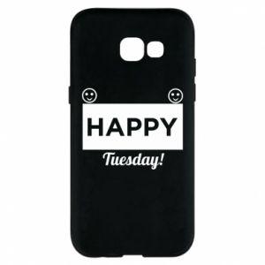 Etui na Samsung A5 2017 Happy Tuesday